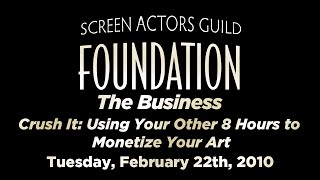 The Business - CrushIt: Using Your Other 8 Hours to Monetize Your Art