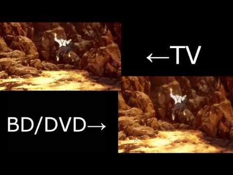 JoJo's Bizarre Adventure - TV Vs. BD/DVD