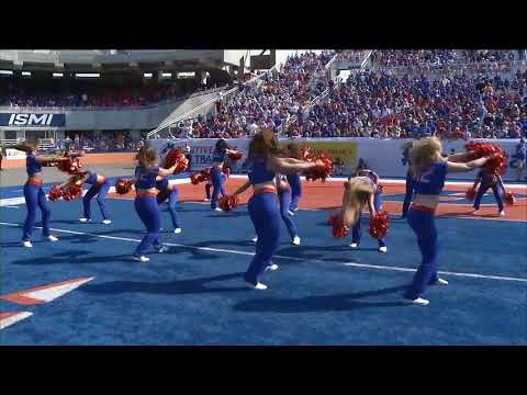 Boise State Mane Line Gold On The Ceiling
