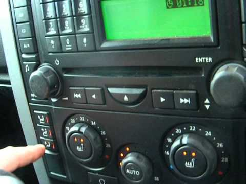 Land Rover Discovery Iii 3 A C Heating Panel Youtube