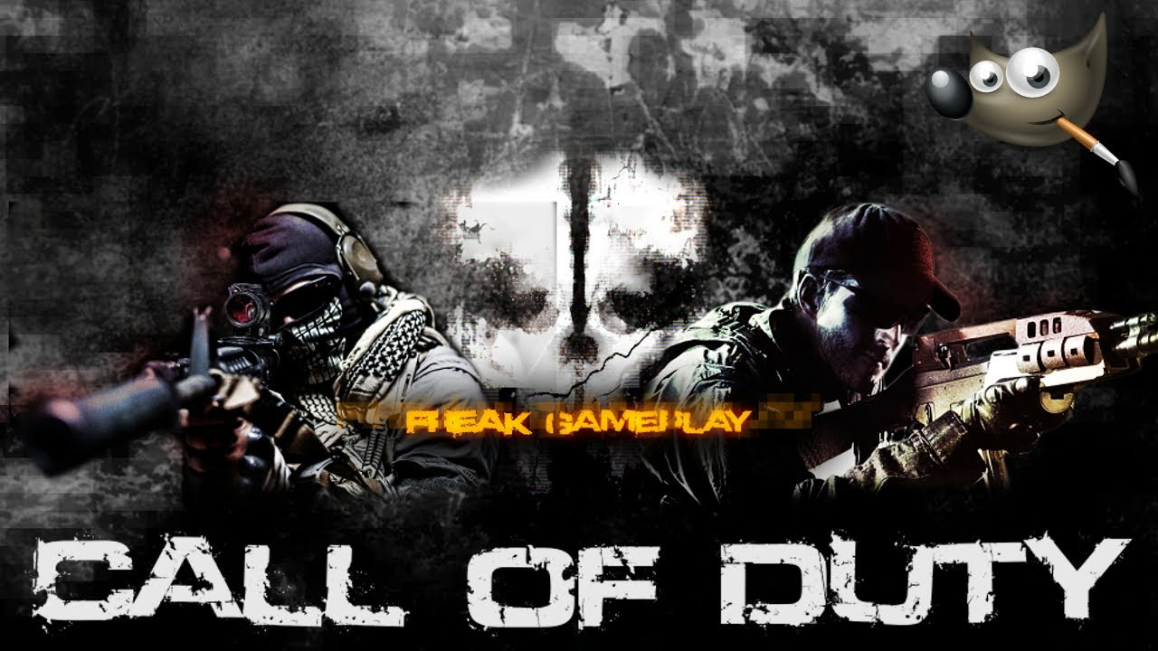Gimp Tutorial (ITA) Creare Un Banner In Stile Call Of Duty