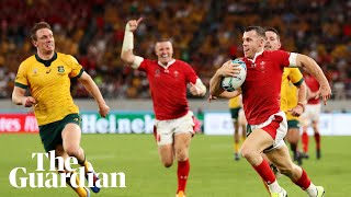 Rugby World Cup: Wales squeeze past Australia, Georgia beat Uruguay