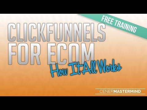 ClickFunnels for eCommerce Free Training Webinar