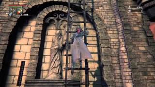 Bloodborne (ブラッドボーン)古狩人デュラ攻略?動画です。 塔の上に...