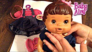 Baby Alive Better Now Baby Name Reveal and Squished Head Update New Outfit and Shoutout!