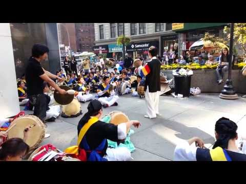 Samul Nori Korean Street Fair Music 10/05/13