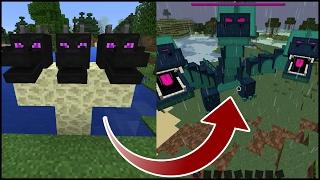 How To Spawn the Hydra Dragon Boss in minecraft pe  (Hydra Boss Addon)   Minecraft Pocket Edition
