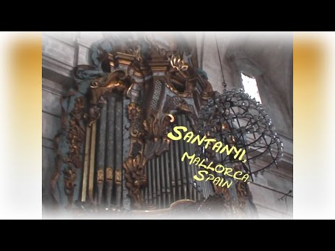 THE BOSCH-ORGAN IN SANTANYI - a short visit