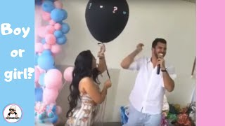 BEST REACTIONS FOR BABY GENDER REVEAL COMPILATION 2018  CUTE UNIQUE PARTY IDEAS