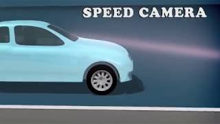Speed Camera Radar on Road - GPS Speedometer 2018
