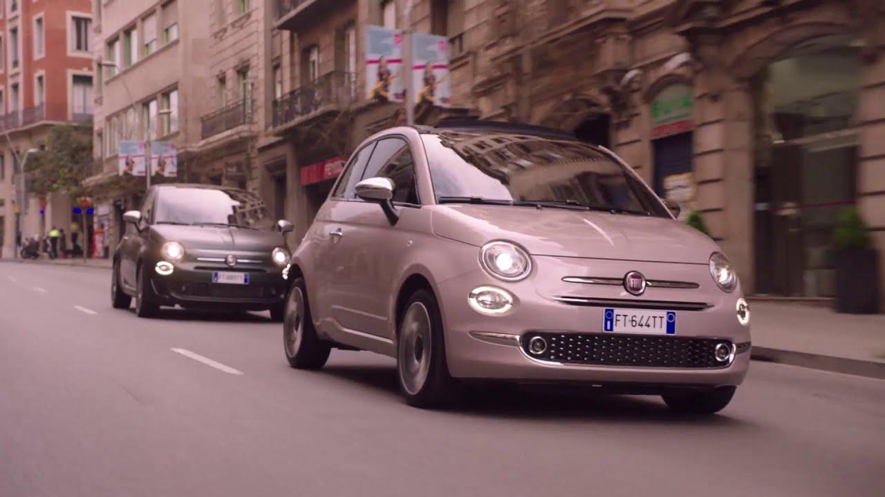 Fiat 500 Star And 500 Rockstar Trailer