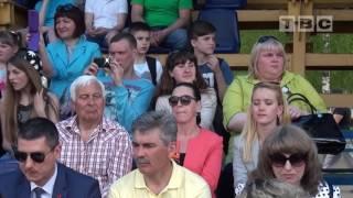 9 мая 2016 в Слониме: стадион, силачи, разведчики и концерт звезд (Слоним ТВ)
