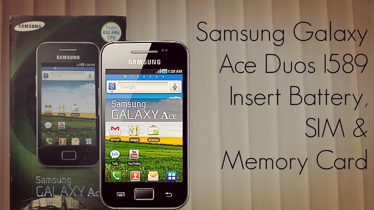 samsung galaxy ace duos s6802 battery backup
