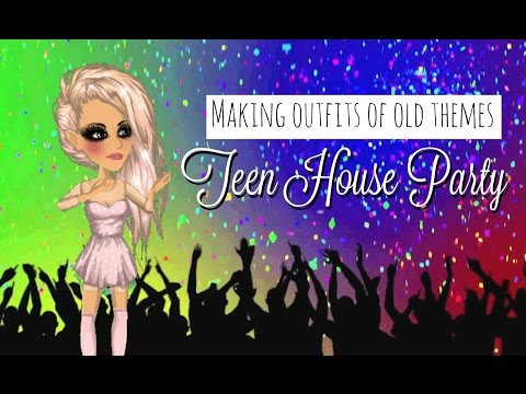 Making outfits of old themes: Teen house party #2