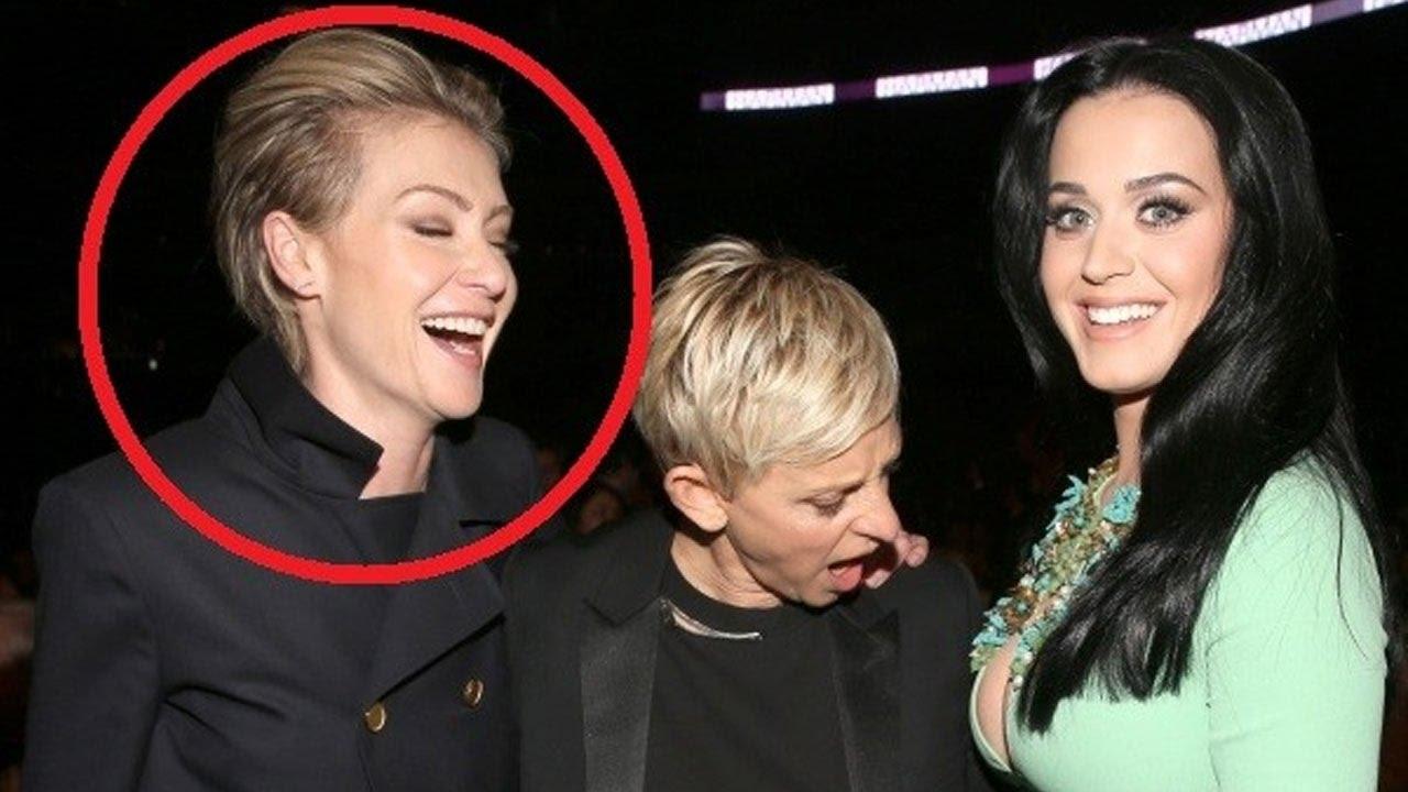 JEALOUS! Ellen DeGenres's Wife Portia De Rossi Slits Wrist