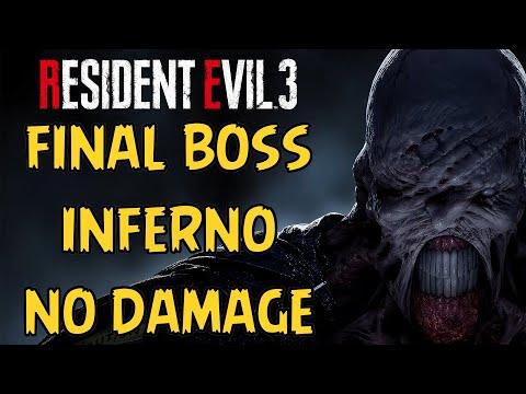 Resident Evil 3 Remake - Final Boss (Inferno) No Damage