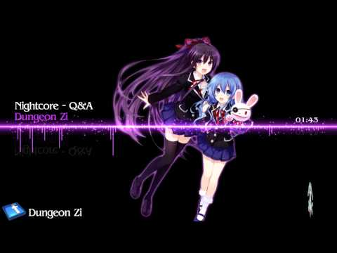 Nightcore - Attention Question【Tohka's song】