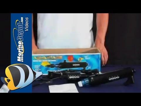 Aqua UV Advantage 2000 HOB UV Sterilizer - Installation