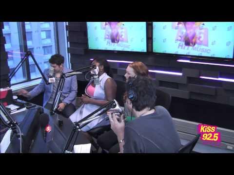 Orange Is The New Black Stars Jason Biggs and Laura Prepon | Interview | Roz & Mocha on KiSS 92.5