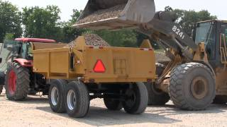 16 Ton Farm and Construction Hydraulic Dump Trailer ~ Berkelmans Welding and Manufacturing Inc.