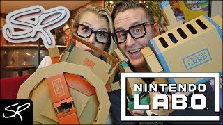 Nintendo Labo Vehicle Kit Review (Nintendo Switch) | The BEST Toy-Con Yet!