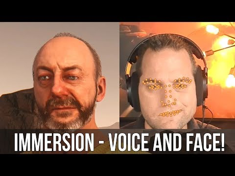 Star Citizen - Immersion - Voice and Facial Expressions Over IP Coming