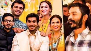 रजनीकांत की बेटी सौंदर्या की शादी,Dhanush & Anirudh at Soundarya Rajinikanth Wedding