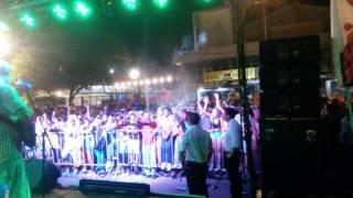 Grupo Play en el carnaval de Carcarana