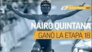 Nairo Quintana ganó la etapa 18 del Tour de Francia | El Espectador