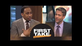 espn first take 13/08/2018 Max thinks the Houston Rockets regressed during the offseason