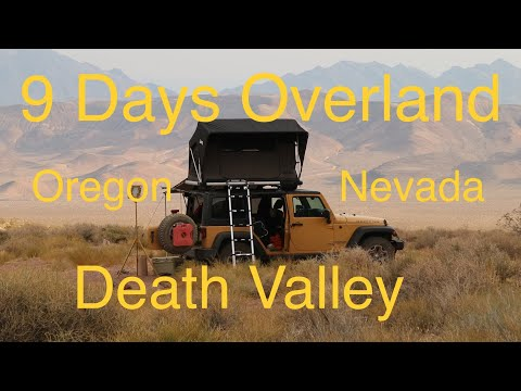 Jeep Camping - 9 Days -  Overland Car Camping in the Jeep Wrangler