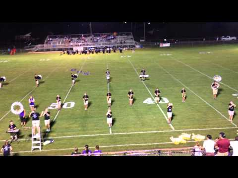 Fruitdale High School band 9/12/14