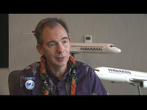 Hawaiian Airlines CEO Mark Dunkerley announces retirement