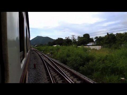 รถไฟไทย # บันทึกการเดินทางสายตะวันออก ขบวน 284 ช่วง ชุมทางศรีราชา - เขาพระบาท