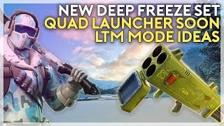 New Deep Freeze Bundle, Quad Launcher Soon, LTM Mode Ideas (Fortnite Battle Royale)