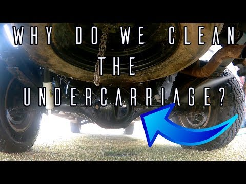 What to do after a 4x4 Trip? (Undercarriage Cleaning Tips)