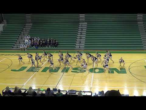 ROCKFORD MIDDLE SCHOOL DANCE TEAM 2018-2019 COMPETITIVE POM ROUTINE - KISS