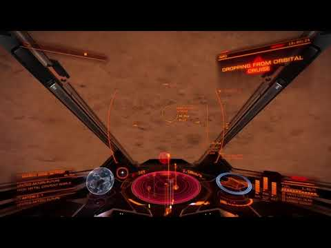 Elite Dangerous (PS4) Grinding for Federation Rank and CRs  [Episode 14]