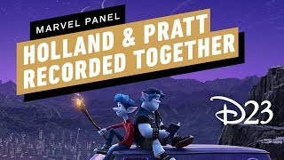 Tom Holland and Chris Pratt Filmed Together for Pixar's Onward - D23 2019 ign