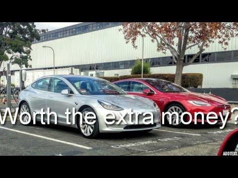 Tesla Model S VS. Model 3- Worth the extra money?