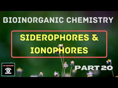 SIDEROPHORES & IONOPHORES
