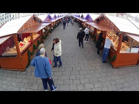 Visiting the Christmas Market in Marseille, France