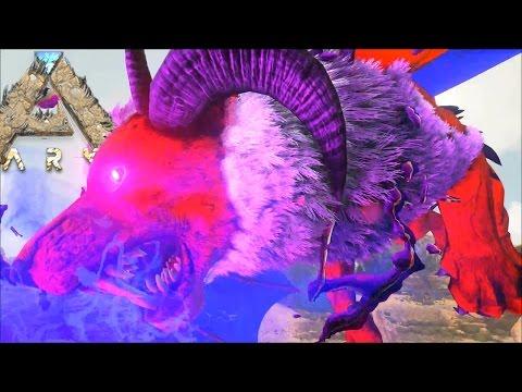 マンティコア捕獲!!! 過去最高難易度テイムレベル&全ての恐竜を眠らせる最強の毒が強すぎた。- リアルマインクラフト実況プレイ#18