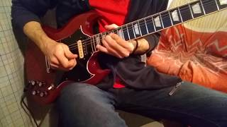Crabsody in Blue - AC/DC - Guitar Solo