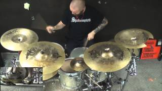 Whitechapel-A Process so Familiar/Fall of the Hypocrites Drum Cover