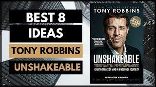 UNSHAKEABLE TONY ROBBINS | ANIMATED BOOK SUMMARY | 8 BIG IDEAS