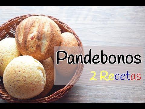 Pandebonos Colombianos- 2 Recetas