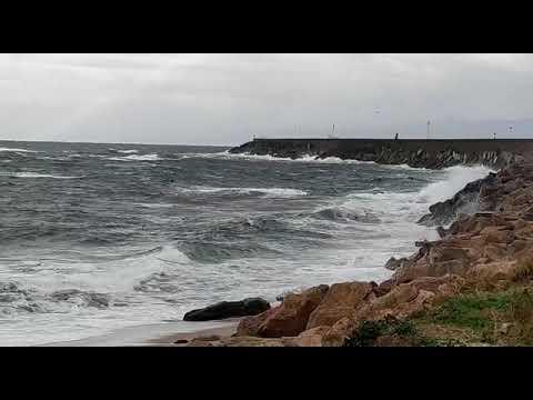 El temporal mantiene a la flota mariñana en puerto