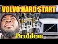Volvo Truck Long Starting Problem After Leave Sitting For 2 Days (pt1) Diagnose. vlog #119