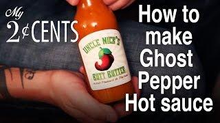 Uncle Nicks Butt Butter Ghost Pepper Hot Sauce